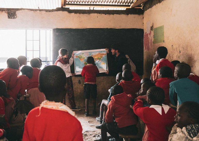 istruzione in Kenya Korogocho