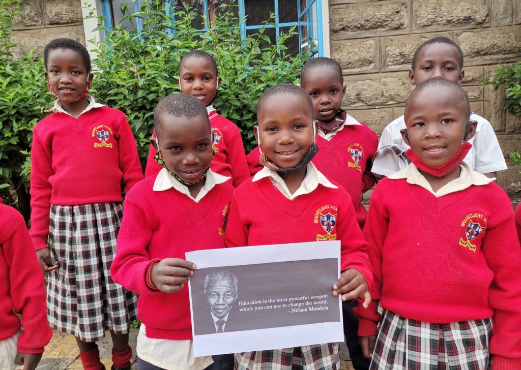 Nelson Mandela e l'educazione