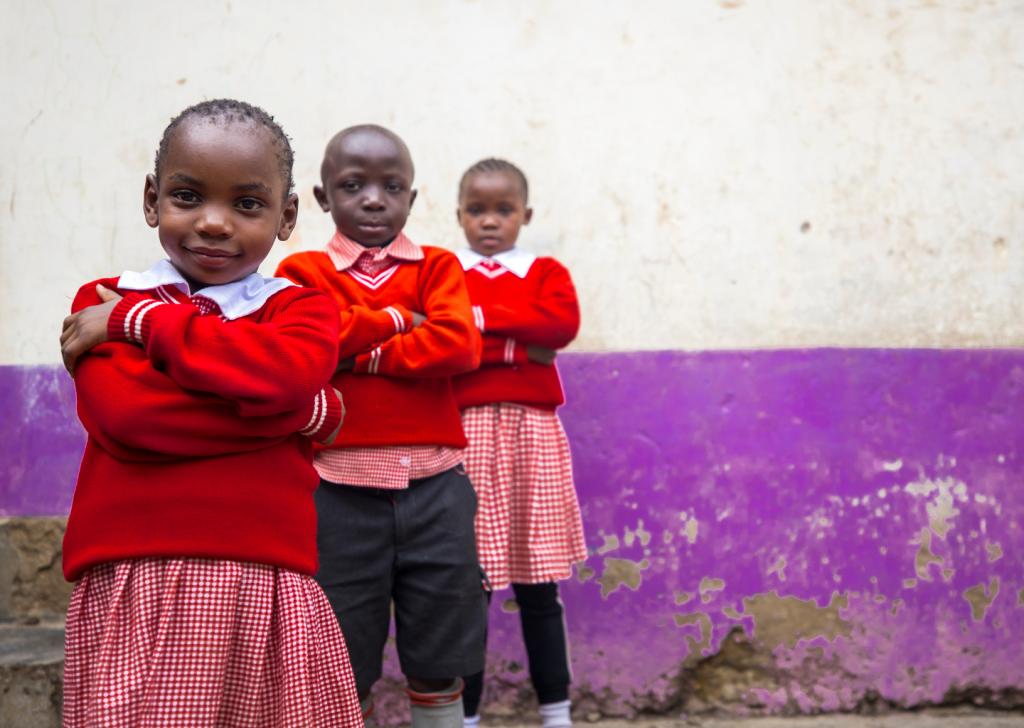 aiutare i bambini africani