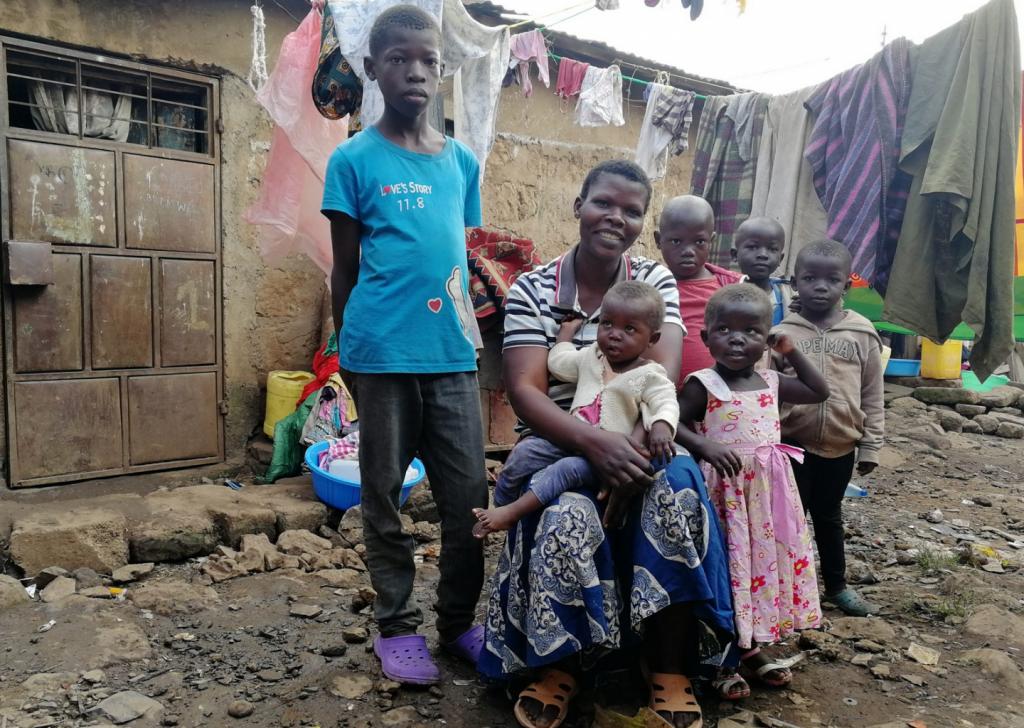 concetto di famiglia in Africa